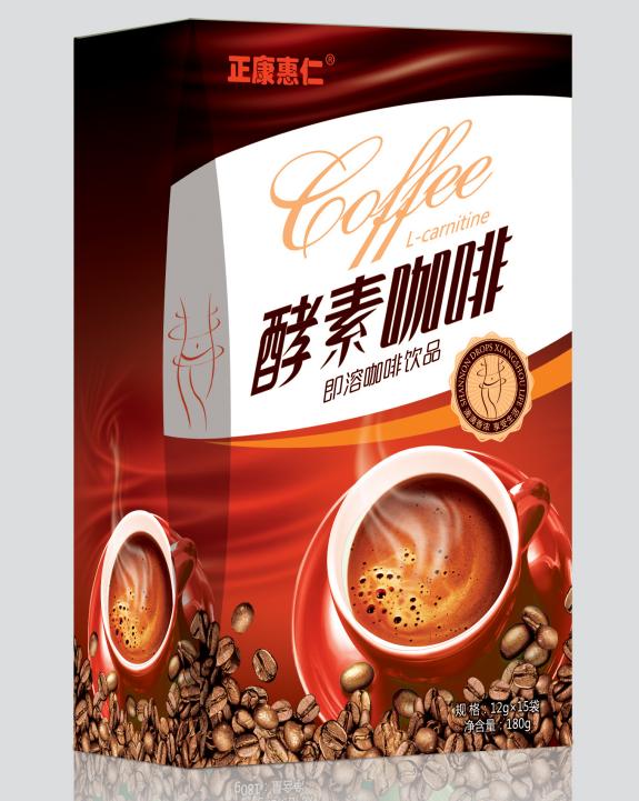 酵素咖啡(紙盒裝)